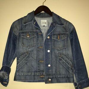 Joes Jean jacket cropped